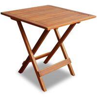 vidaXL Bistro stolík 46x46x47 cm, akáciový masív