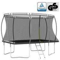 vidaXL Súprava trampolíny obdĺžniková 335x244x90 cm 150 kg