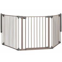 """Safety 1st Bezpečnostná 3 panelová zábrána """"Modular 3"""", šedá, 82-214cm, 24226580"""