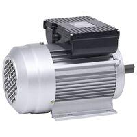 vidaXL Jednofázový elektromotor hliník 1,5 kW/2HP 2-pólový 2800 ot./min