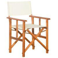 vidaXL Režisérska stolička, akáciový masív