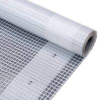 vidaXL Celta Leno 260 g/m², 4x2 m, biela