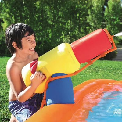 Bestway H2OGO Tobogán Turbo Splash Water Zone-Mega Water Park 53301