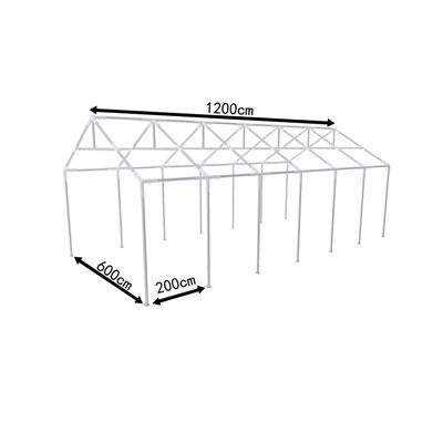 Oceľový rám pre party stan 12 x 6 m