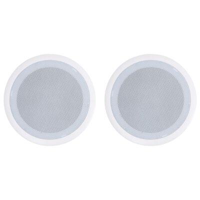 vidaXL Vstavané nástenné a stropné reproduktory 2 ks 80 W