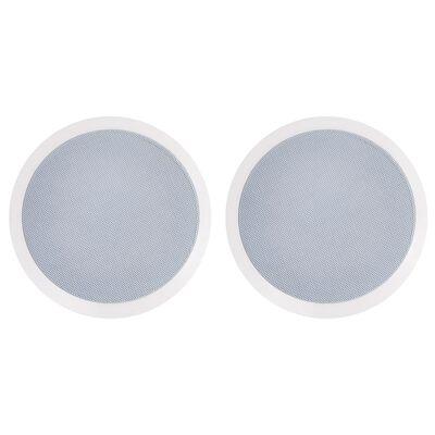 vidaXL Vstavané nástenné a stropné reproduktory s tweeterom 2 ks 240 W