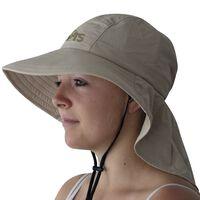 Travelsafe Klobúk proti slnku UPF 50+ béžový