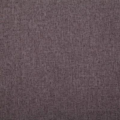 vidaXL Látková 2-miestna pohovka sivo-hnedá