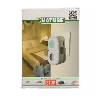 Nature Elektrický ultrazvukový odpudzovač hmyzu/myší 25 m2