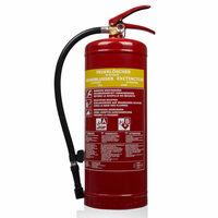 Smartwares Penový hasiaci prístroj SB6 6l trieda AB oceľový 10.015.05