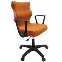 Entelo Ergonomické kancelárske kreslo NORM oranžové BA-B-6-B-C-FC34-B
