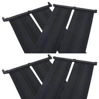 vidaXL Solárny panel na ohrev vody v bazéne 4 ks 80x310 cm