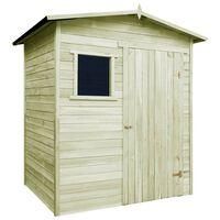 vidaXL Záhradný domček/kôlňa 1,5x2 m, impregnovaná borovica