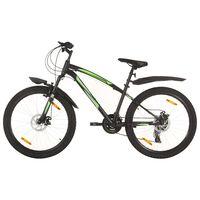 """vidaXL Horský bicykel 21 rýchlostí 26"""" koleso 36 cm rám čierny"""