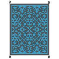Bo-Camp Vonkajší koberec Chill mat Lounge 2,7x3,5 m, modrý