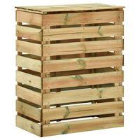 vidaXL Latkový záhradný kompostér 80x50x100 cm impregnované borovicové drevo