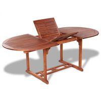 vidaXL Záhradný stôl 200x100x74 cm, akáciový masív