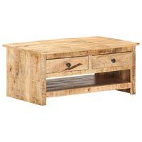 vidaXL Konferenčný stolík 88x50x38 cm surové mangovníkové drevo