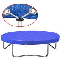 vidaXL Kryt na trampolínu PE 360-367 cm 90 g/m²