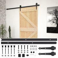 vidaXL Posuvné dvere so sadou kovania 80x210 cm borovicový masív
