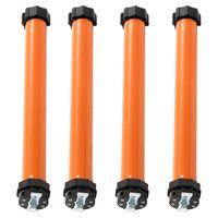 vidaXL Trubkové motory 4 ks 10 Nm