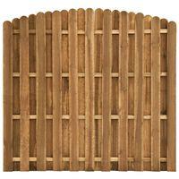 vidaXL Plotový panel, borovicové drevo 180x(155-170) cm