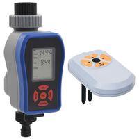 vidaXL Digitálny časovač zavlažovania s jedným výstupom a snímačom vlhkosti