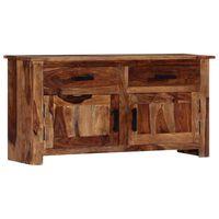 vidaXL komoda 100x30x50 cm masívne sheeshamové drevo