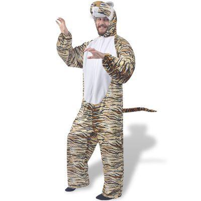 Kostým na karneval - tiger, veľkosť XL-XXL vidaXL
