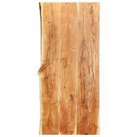 vidaXL Doska na kúpeľňovú skrinku masívne akáciové drevo 120x55x3,8 cm