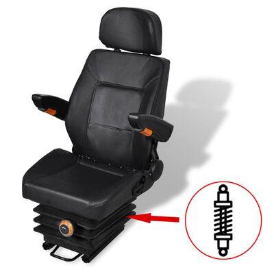 vidaXL Traktorové sedadlo s odpružením
