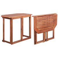 vidaXL Bistro stolík 90x50x75 cm, akáciový masív