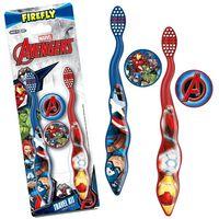 FIREFLY Avengers, zubné kefky od 3r+, 2ks