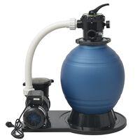 vidaXL Piesková filtrácia s čerpadlom 1000 W, 16800 l/h XL
