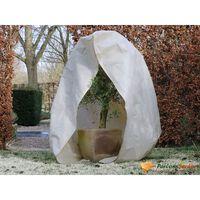 Nature Zimný flísový kryt so zipsom 70 g/m², béžový 2x1,5x1,5 m