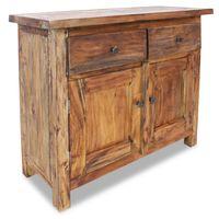 vidaXL Kredenc z pevného recyklovaného dreva, 75x30x65 cm