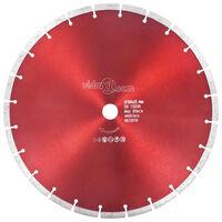 vidaXL Diamantový rezací kotúč oceľový 350 mm