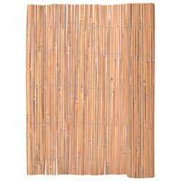 vidaXL Bambusový plot 125x400 cm