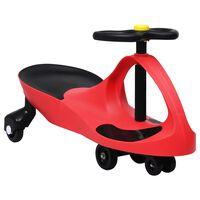vidaXL Samochodiace autíčko pre deti s klaksónom červené