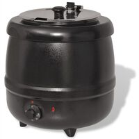 vidaXL Elektrický kotlík na polievku, 10 L