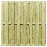 vidaXL Plotový panel, borovica 180x180 cm, zelený