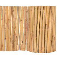 vidaXL Bambusový plot 500x30 cm