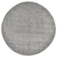 vidaXL Koberček Shaggy 67 cm, sivý