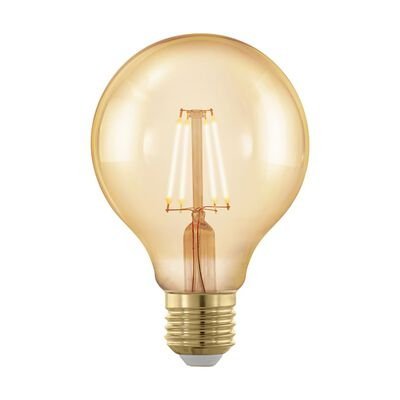 EGLO Stmievateľná LED žiarovka Golden Age 4 W 8 cm 11692
