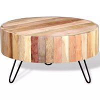 vidaXL Konferenčný stolík, recyklovaný masív