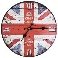 vidaXL Vintage nástenné hodiny UK 30 cm
