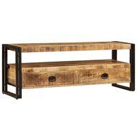 vidaXL TV skrinka 120x35x45 cm masívne mangovníkové drevo
