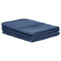 vidaXL Koberec do stanu 250x450 cm modrý
