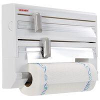 Leifheit Nástenný držiak na papierové utierky Parat biely 25703