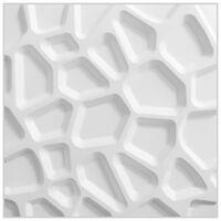 WallArt Nástenné 3D panely GA-WA01 24 ks vzor medzier